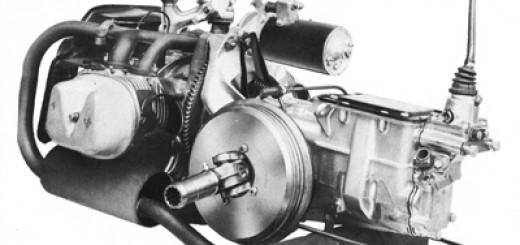 2CV engine and brakes
