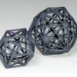 Rhombic polyhedra smaller